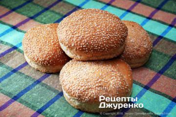 Шаг 1: булочки для гамбургеров