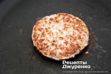 Крок 5: котлета для бургера