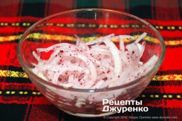 Шаг 2: маринованный лук
