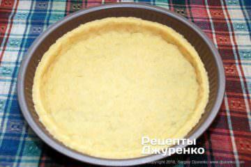 Крок 4: тісто в формі