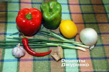 Крок 1: овочі для соусу