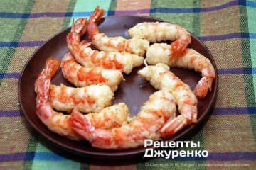 Крок 3: креветки смажені у фритюрі