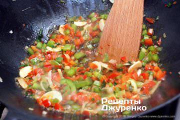 Шаг 10: жидкий соус