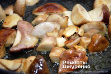 Шаг 2: жареные грибы
