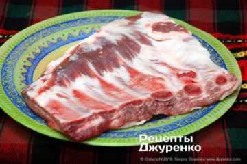 Як приготувати Запечені свинячі ребра. Крок 2: ребра для запікання