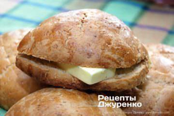 Фото рецепта ананасові булочки