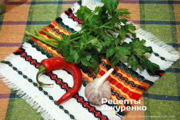 Шаг 2: овощи для соуса