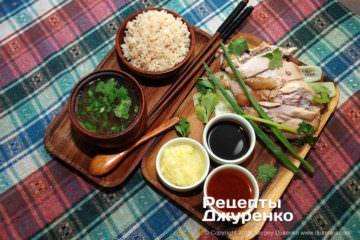 Фото рецепта курица по-хайнаньски