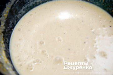 Як приготувати Японські млинці. Крок 6: рідке тісто