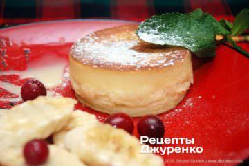 Фото рецепта японские блинчики — пышные панкейки