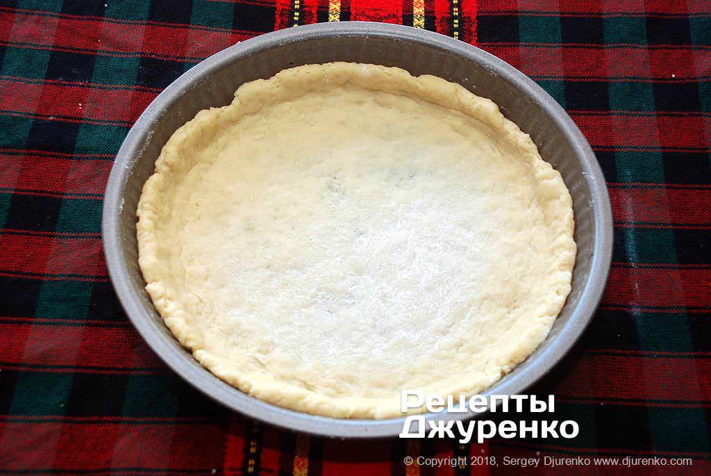 Тесто для пирога.