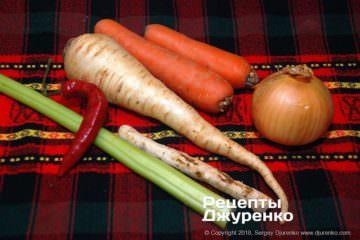 Шаг 3: овощи для гарнира