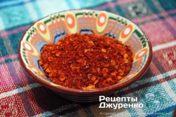 Шаг 3: острый перец