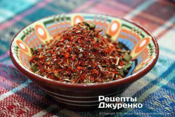 Фото рецепта приправа к мясу