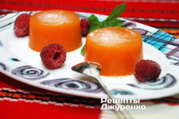 Фото рецепта десерт з гарбуза