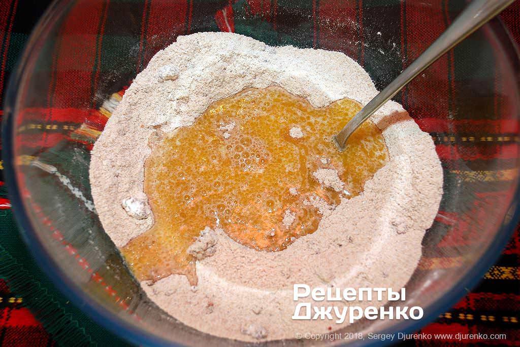 масло і борошно для тіста