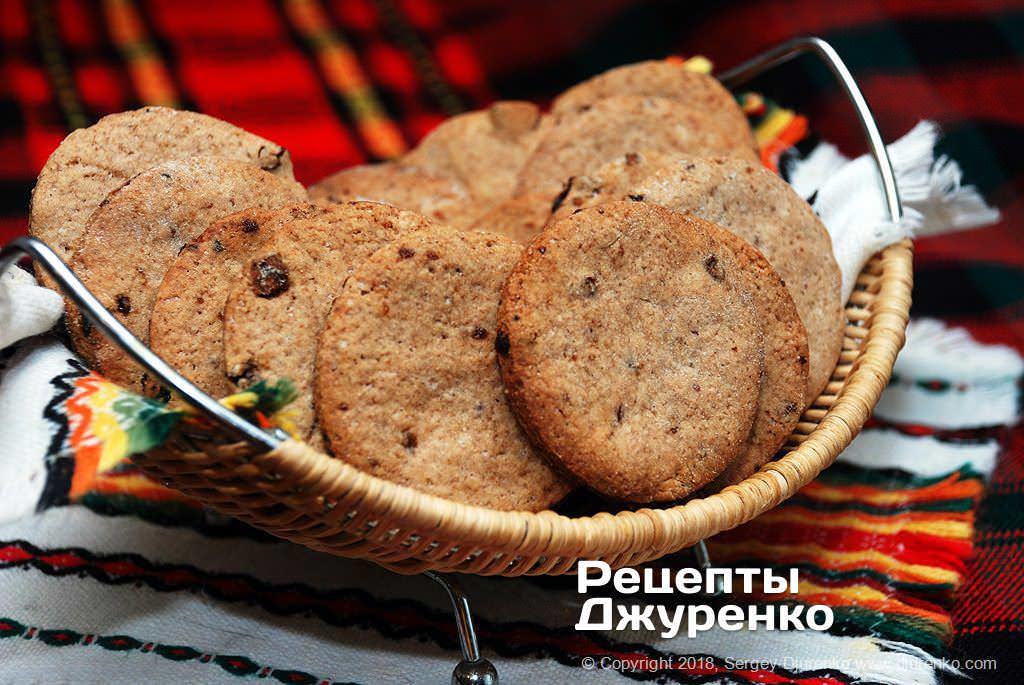 Фото готового рецепту вівсяне печиво в домашніх умовах