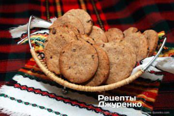 Фото рецепта овсяное печенье