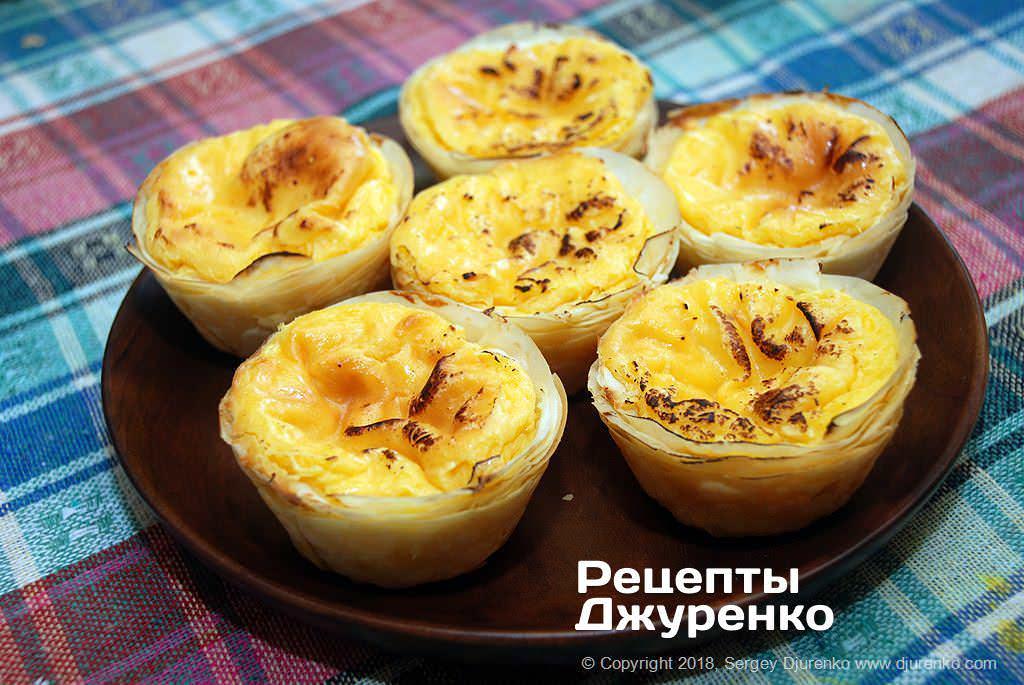 яичные тарталетки