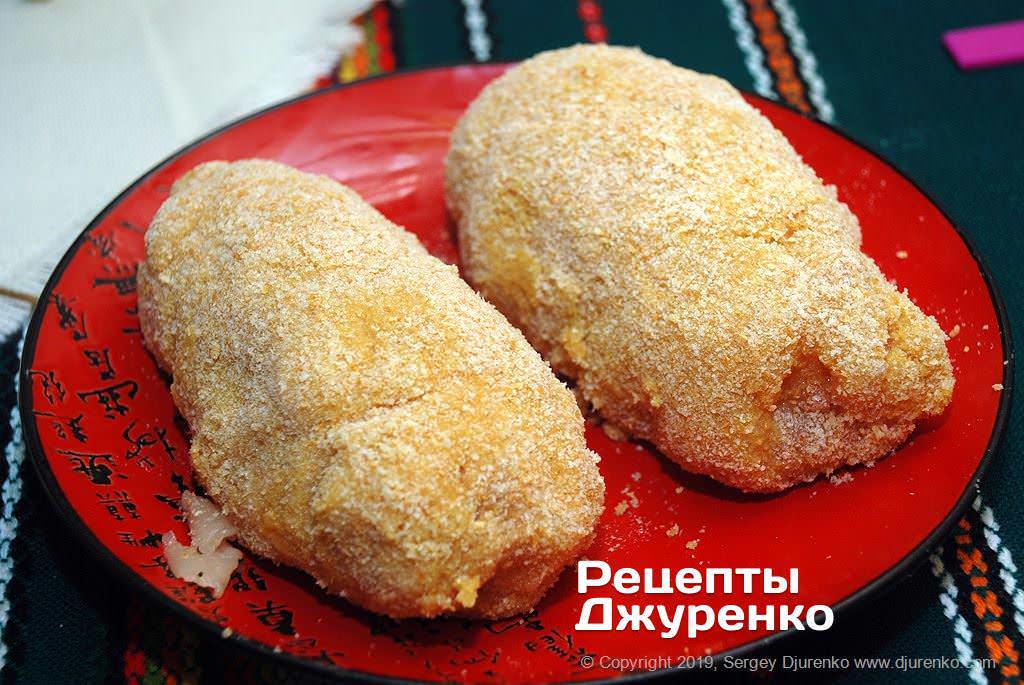 Как приготовить Котлета по-киевски. Шаг 18: котлеты в панировке