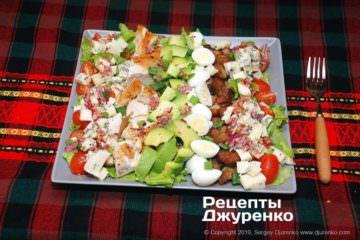 Фото рецепта салат кобб