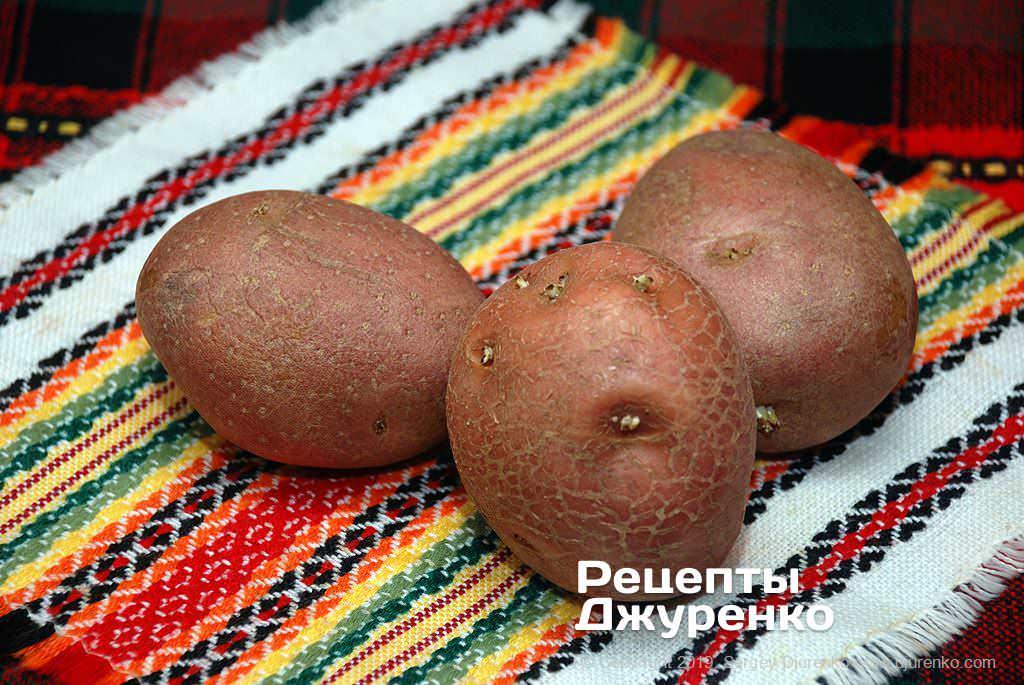 Как приготовить Ньокки. Шаг 2: картошка