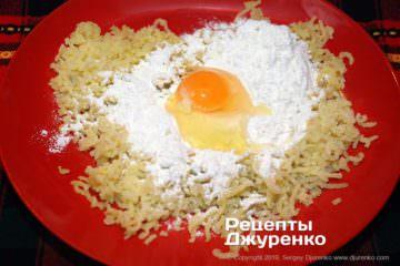 Шаг 3: подготовка картофельного теста