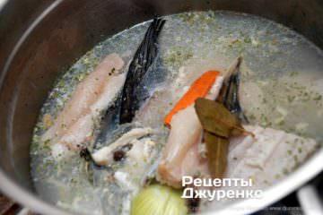 Крок 3: рибний бульйон