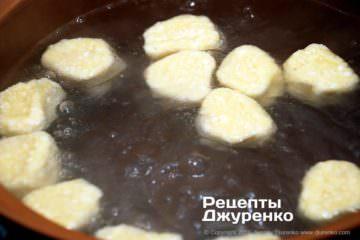 Як приготувати Ліниві вареники. Крок 10: як варити вареники