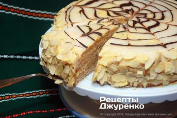 Фото рецепта торт эстерхази