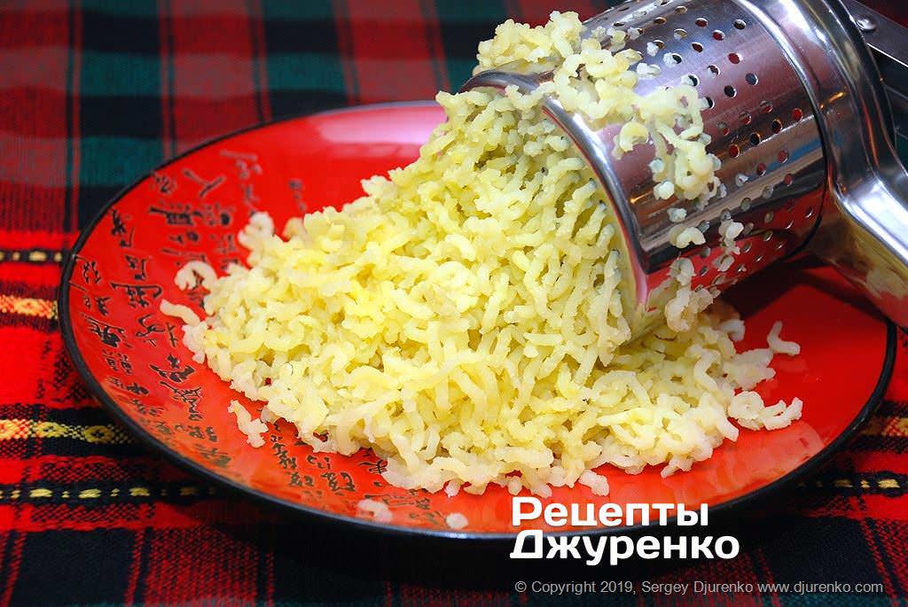Как приготовить Картофельные котлеты. Шаг 4: пресс для картофеля