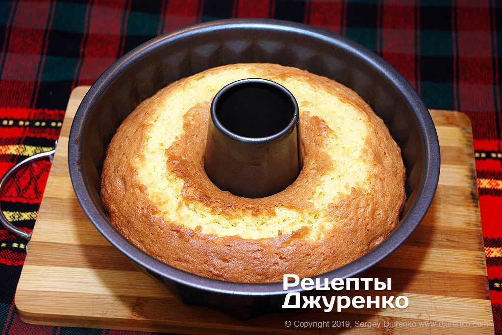 Как приготовить Кекс с изюмом. Шаг 10: выпечка кекса
