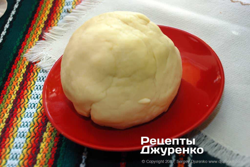 Как приготовить Грушевый пирог. Шаг 10: тесто для пирога
