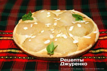 Фото рецепта грушевый пирог