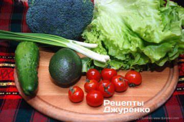 Крок 2: овочі для салату