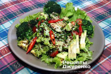 Фото рецепта салат с киноа