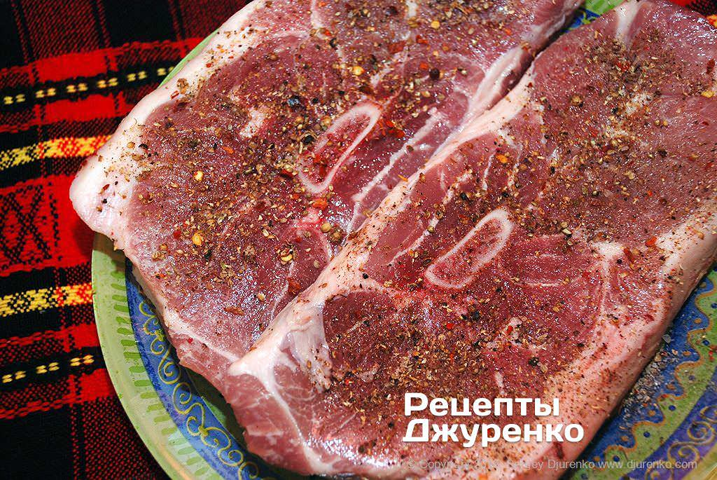 Как приготовить Свинина запеченная в духовке. Шаг 6: сухое маринование мяса