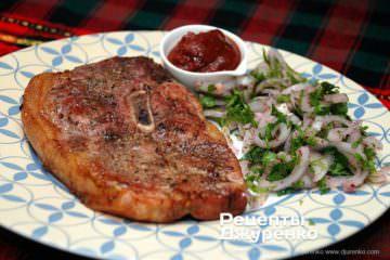 Фото рецепта свинина запеченная в духовке