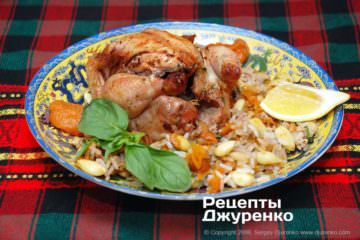 Готовое блюдо фаршированная курица