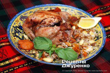 Фото рецепта амич – фаршированная курица
