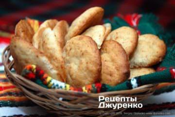 Готовое блюдо банановое печенье