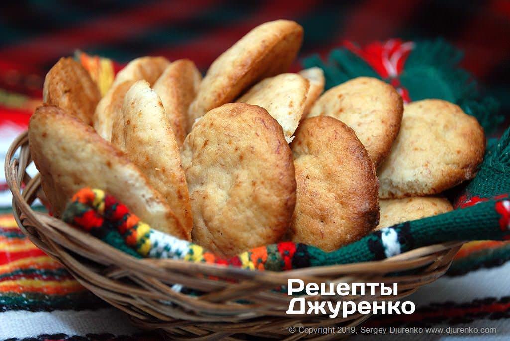 Фото готового рецепту бананове печиво в домашніх умовах