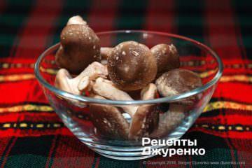 Как приготовить Грибной суп-пюре. Шаг 8: грибы шиитаке