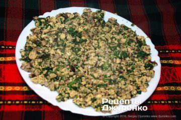 Как приготовить Цзяоцзы, китайские пельмени. Шаг 10: готовая начинка