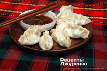Фото рецепта цзяоцзы, китайские пельмени