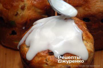 Как приготовить Пасхальная выпечка – пасха, паска, кулич. Шаг 22: сахарная глазурь