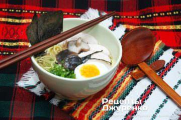 Фото рецепта смачний суп рамен