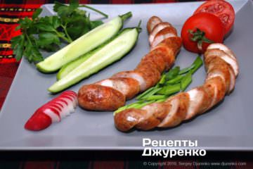 Крок 11: запечена куряча ковбаса