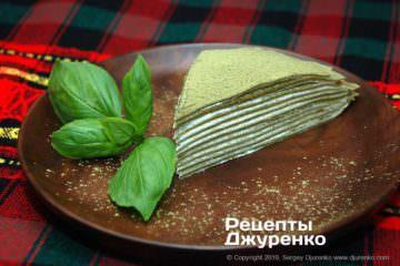 Готова страва млинцевий торт