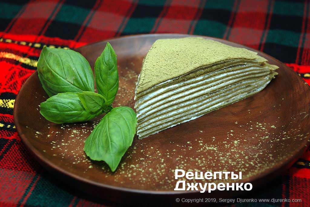 Фото готового рецепта блинный торт в домашних условиях